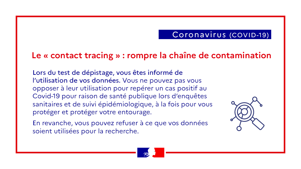 Covid: vignette contact trancing 6