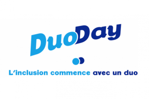 logo duo day, l'inclusion commence par un duo