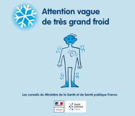 attention vague de très grand froid